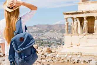 Walking City Tour, Acropolis in Athens