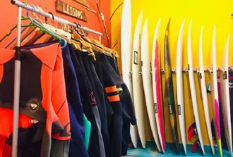 Rent Surf Board and Wetsuit - 2 Days