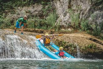 Kayaking in Mreznica Canyon - Plitvice Area