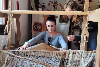 Bulgarian Authentic Private Crafts Workshop in the Rose Valley - Art Knitting Frivole Workshop