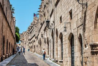 SHORE EXCURSION RHODES, WALKING TOUR TO MEDIEVAL TOWN & THE VALLEY OF BUTTERFLY - Without licensed tour guide