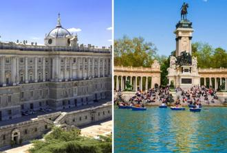 Visit Madrid's Royal Palace and discover El Retiro park