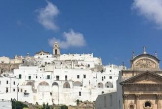"Ostuni: The white city ""guided walking tours + lunch"