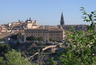 Half day tour of Toledo with bus transfer from Madrid