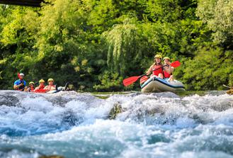EXTREME RAFTING - Cetina River