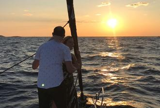 Romantic Sunset Sailing Trip from Zadar